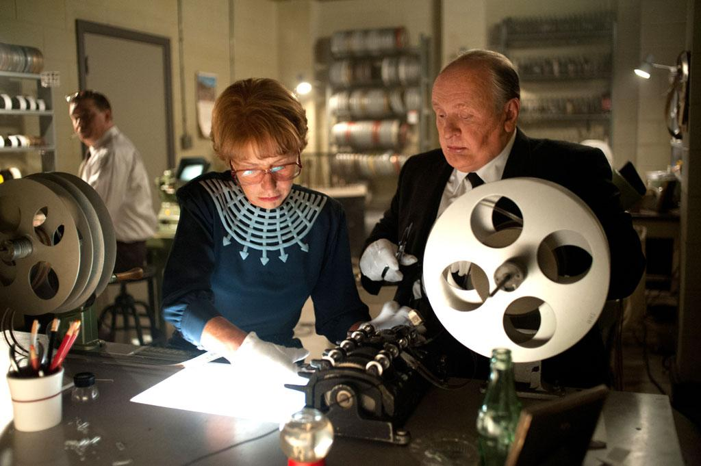 "Helen Mirren as Alma and Anthony Hopkins as Alfred Hitchcock in Fox Searchlight's ""Hitchcock"" - 2012"