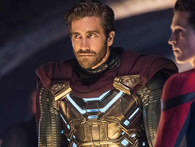 """Jake Gyllenhaal in """"Spider-Man: Far From Home."""""""