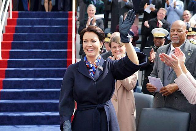 Bellamy Young as Mellie Grant on ABC's 'Scandal' (Photo: Richard Cartwright/ABC)