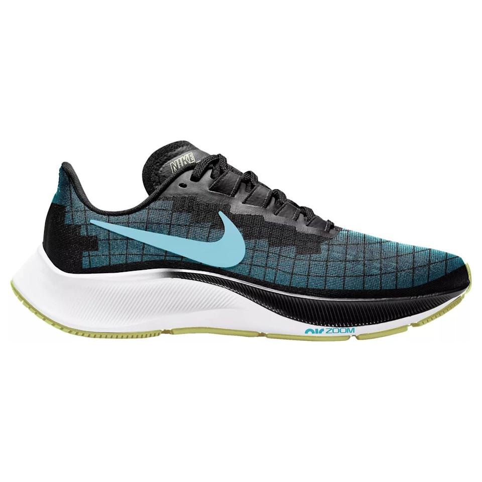 """<p><strong>Nike</strong></p><p>rei.com</p><p><strong>$120.00</strong></p><p><a href=""""https://go.redirectingat.com?id=74968X1596630&url=https%3A%2F%2Fwww.rei.com%2Fproduct%2F178832&sref=https%3A%2F%2Fwww.prevention.com%2Ffitness%2Fworkout-clothes-gear%2Fg36533538%2Fmemorial-day-running-shoe-sale-2021%2F"""" rel=""""nofollow noopener"""" target=""""_blank"""" data-ylk=""""slk:Shop Now"""" class=""""link rapid-noclick-resp"""">Shop Now</a></p><p>There's a reason the Peg has been around for almost 40 years—it works. Light but supportive, cushioned but responsive, it can take you from speed work to training run to casual 5K. The super thin tongue sits flat and unobtrusively out of the way, and the raised heel collar keeps your achilles snug and supported. </p><p><a class=""""link rapid-noclick-resp"""" href=""""https://go.redirectingat.com?id=74968X1596630&url=https%3A%2F%2Fwww.rei.com%2Fproduct%2F178835%2Fnike-air-zoom-pegasus-37-road-running-shoes-mens&sref=https%3A%2F%2Fwww.prevention.com%2Ffitness%2Fworkout-clothes-gear%2Fg36533538%2Fmemorial-day-running-shoe-sale-2021%2F"""" rel=""""nofollow noopener"""" target=""""_blank"""" data-ylk=""""slk:Buy Men's"""">Buy Men's </a></p>"""