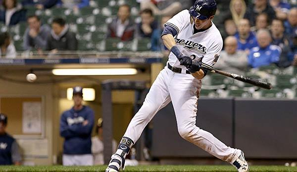 MLB: Brewers setzen Christian Yelich auf 10-Day Disabled List