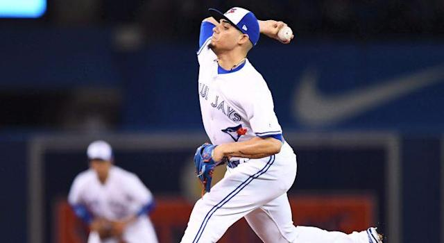 The Blue Jays' losing ways have prevented Roberto Osuna from getting work. (Frank Gunn/CP)