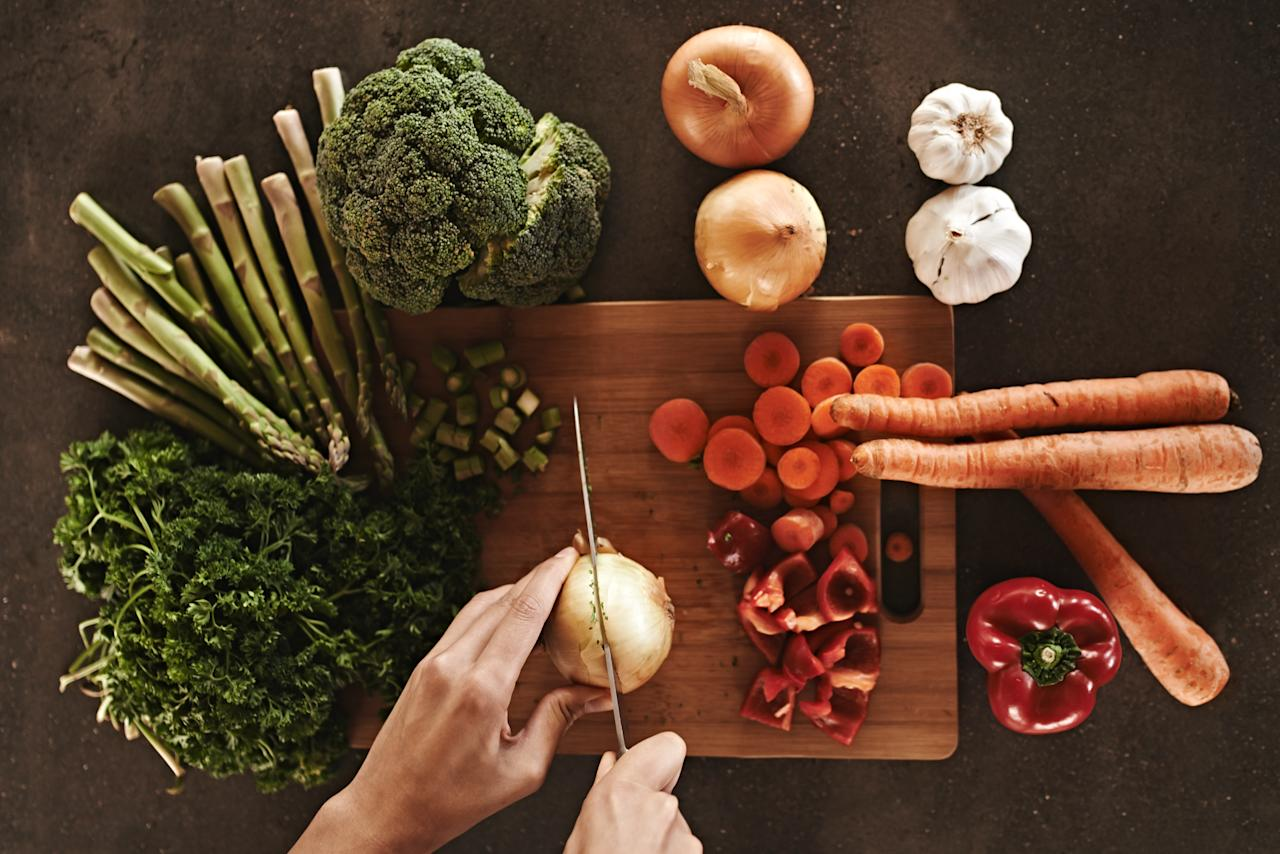"<p>Eating a vegan diet of uncooked foods has been supported by the likes of 'wellness queen' Gwyneth Paltrow. People believe that heat can lose nutrients and destroy some of food's natural enzymes, forcing the body to work harder to break it down. However, the BDA disagrees, saying that heat can in fact bring out nutrients in produce such as carrots. ""People think that vegan is shorthand for healthy, but it requires careful planning to make sure you don't miss out on important nutrients,"" commented Sian Porter, adding that some food including potatoes are unsafe to be eaten raw. <i>[Photo: Getty]</i> </p>"