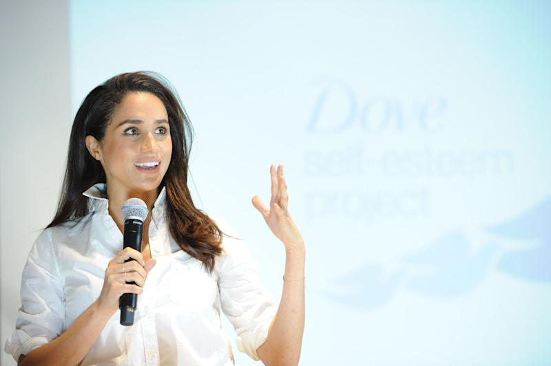 Aside from acting, Markle was also a noted feminist, focusing her attention on gender equality. In 2015, she attended the Dove Self-Esteem Project event on Oct. 6, 2015, in Toronto.