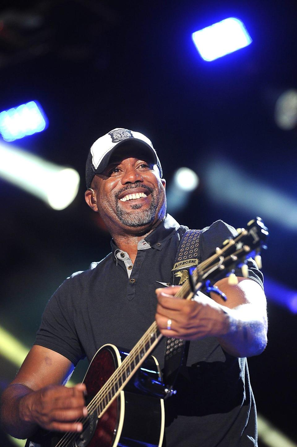 """Darius Rucker will be performing in """"The Life and Songs of Kris Kristofferson"""" at Bridgestone Arena March 16, 2016."""