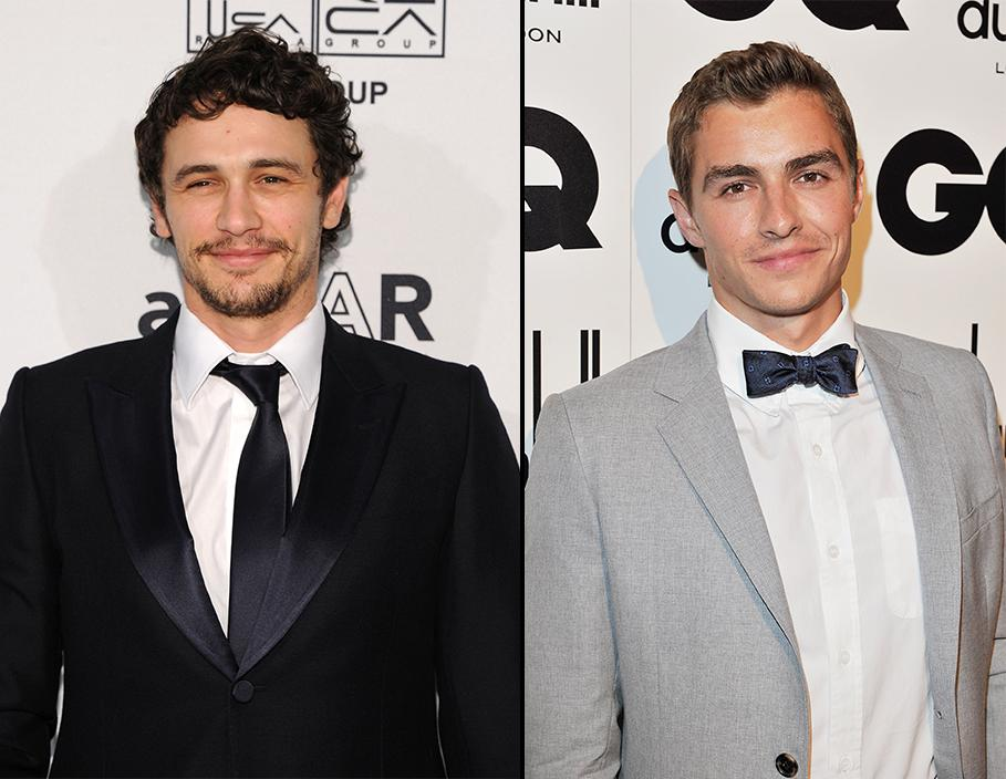 James Franco and his brother
