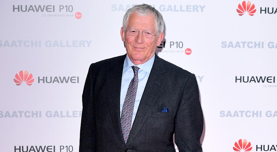 'Countdown' host Nick Hewer is on the COVID vulnerable list due to his age. (PA)