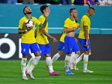 Neymar's equaliser helps Brazil draw Colombia 2-2 in friendly on return from injury
