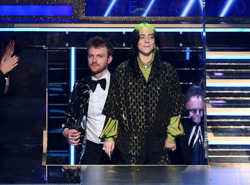 Billie Eilish, Finneas O'Connell, 2020 Grammys, Grammy Awards, Winner