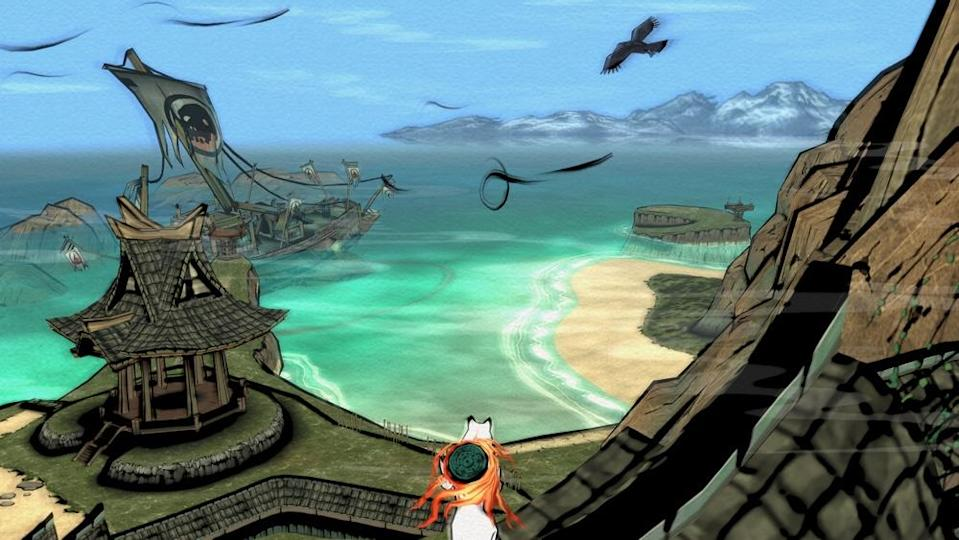 'Okami HD' provides you with a rich game world with plenty of areas to discover.