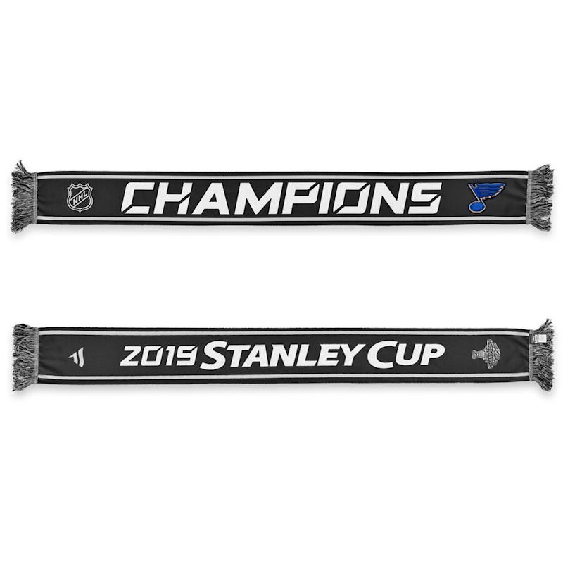 St. Louis Blues 2019 Stanley Cup Champions Locker Room Scarf