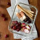 """<p>Inspired by Starbucks' bistro boxes, this packable lunch is just like a personal-size cheese plate to take on-the-go. The healthy and easy snack-style meal is perfect to take for lunch at work or for a light picnic date night. <a href=""""https://www.eatingwell.com/recipe/264675/charcuterie-bistro-lunch-box/"""" rel=""""nofollow noopener"""" target=""""_blank"""" data-ylk=""""slk:View Recipe"""" class=""""link rapid-noclick-resp"""">View Recipe</a></p>"""