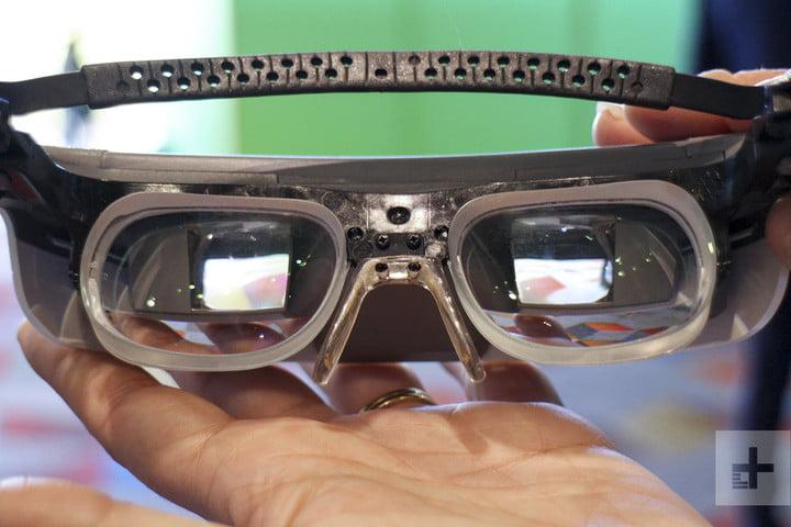 esight smart glasses blind amazing lenses center
