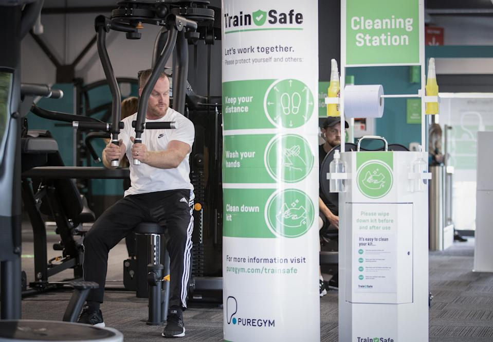 <p>PureGym lost 12% of its members in 2020, to 1.5 million, and saw membership numbers fall further to 1.4 million by the end of March</p> (PureGym)