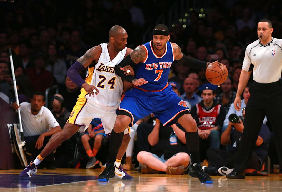 """Carmelo Anthony will miss the Trail Blazers' game against the Lakers on Friday due to """"personal reasons."""""""
