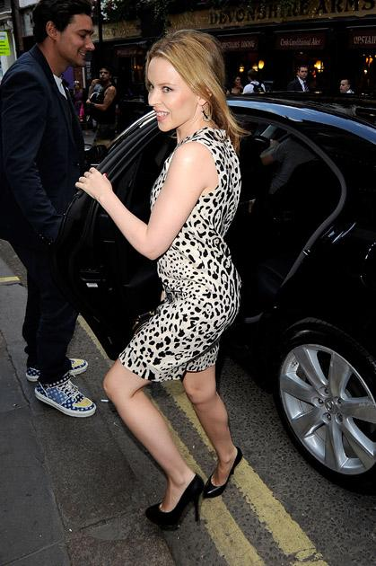 Like JLo, Kylie Minogue also has insured her derriere for $ 5 million