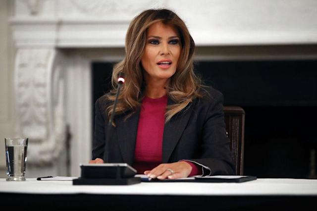 Melania Trump is supposedly taking action against families being separated at the border. (Photo: Getty Images)