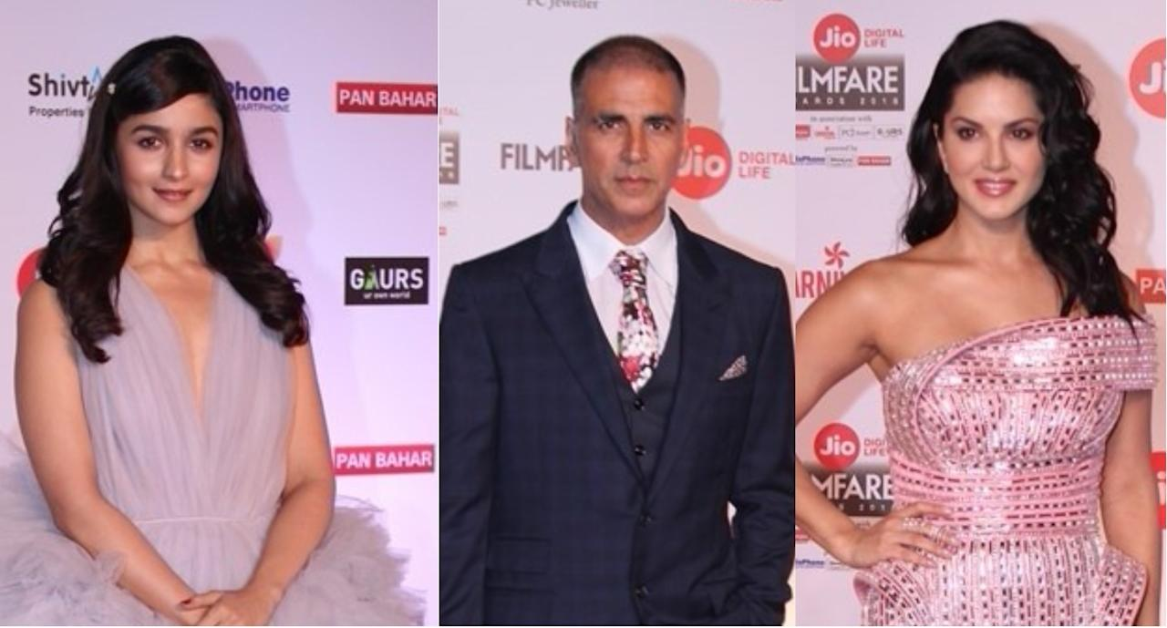 <p>Let us check out the bigwigs of Bollywood who were present at the award ceremony. </p>