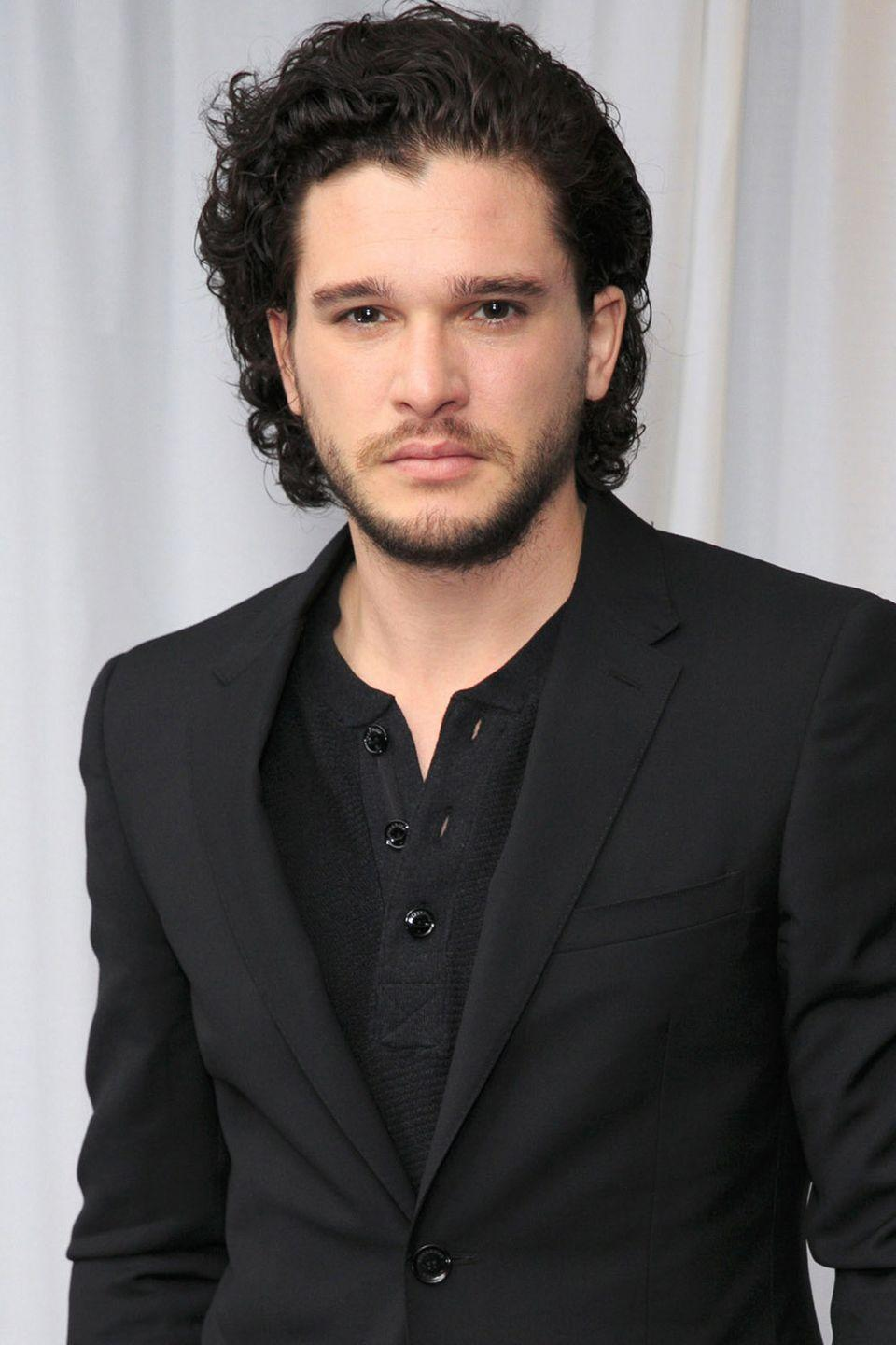 """<p><strong>Born</strong>: Christopher Catesby Harington</p><p>In an interview with <em><a href=""""https://www.glamour.com/story/kit-harington-interview"""" rel=""""nofollow noopener"""" target=""""_blank"""" data-ylk=""""slk:Glamour"""" class=""""link rapid-noclick-resp"""">Glamour</a></em>, the <em>Game of Thrones</em> star revealed that his parents didn't tell him his real name was Christopher until he was 11 years old. """"I think they could see that I wanted to be Kit, but Christopher was a bit of a tradition,"""" Harington <a href=""""https://www.glamour.com/story/kit-harington-interview"""" rel=""""nofollow noopener"""" target=""""_blank"""" data-ylk=""""slk:explained"""" class=""""link rapid-noclick-resp"""">explained</a>. """"My brother's name is Jack, but his real name is John. Kit is traditionally an offshoot of Christopher, it's just not used that often. My middle name is Catesby.""""</p>"""