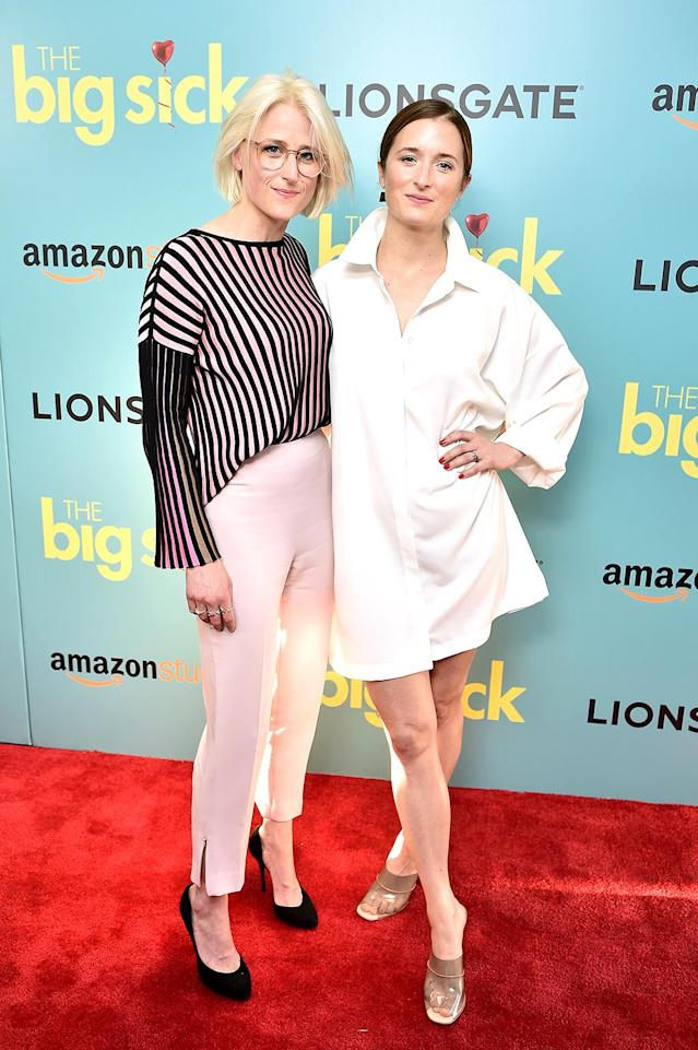 <p>Recognize these actresses at the New York City premiere of <i>The Big Sick</i>? You probably should, since Mamie and Grace look more than a little like their mama, Meryl Streep. Both also have extensive acting credits of their own, thank you very much! (Photo: Steven Ferdman/Patrick McMullan via Getty Images) </p>