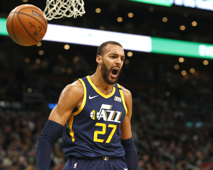 French professional basketball player for Utah Jazz