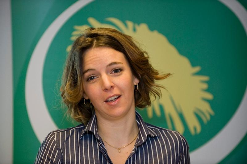 Swedish-Chilean Zaida Catalan, pictured in 2009, was with American Michael Sharp investigating reports of mass graves in the Kasai region when they were murdered (AFP Photo/Bertil ERICSON)