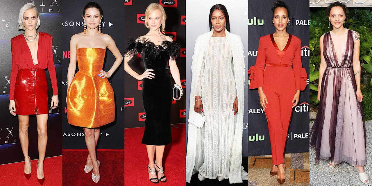 <p>Between red carpets and IRL sightings, here are the best-dressed celebs of the week.</p>