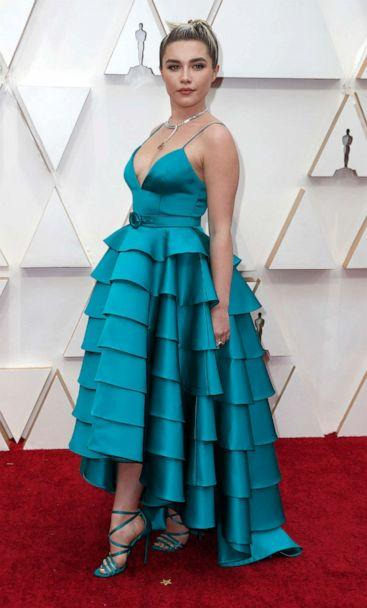 PHOTO: Florence Pugh attends the 92nd annual Academy Awards, Feb. 9, 2020, in Hollywood, Calif. (Eric Gaillard/Reuters)