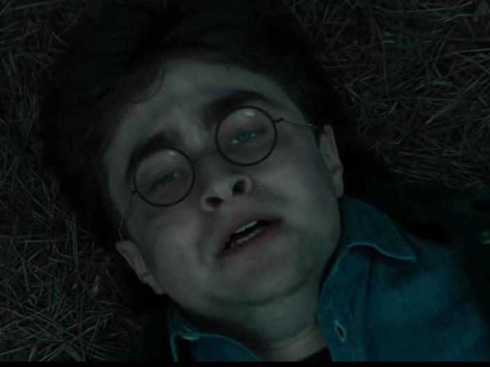 "Daniel Radcliffe in ""Harry Potter and the Deathly Hallows - Part 1."""