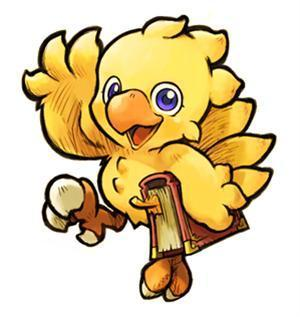 final fantasy chocobo game maybe?