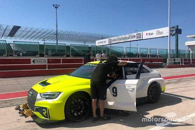 "Matteo Poloni, Race Lab, Audi RS 3 LMS TCR <span class=""copyright"">Race Lab </span>"