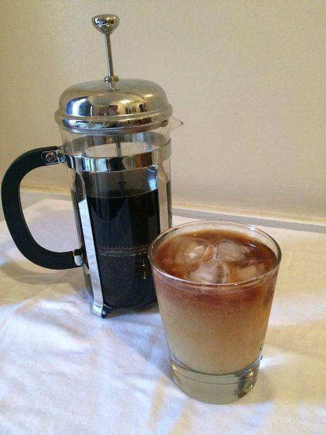 """<p>If you like your iced coffee on the strong side, make your cold brew coffee in a French press.</p><p>Get the tutorial from <a href=""""http://www.instructables.com/id/French-Press-Cold-Brew-Coffee/"""" rel=""""nofollow noopener"""" target=""""_blank"""" data-ylk=""""slk:Instructables"""" class=""""link rapid-noclick-resp"""">Instructables</a>.</p>"""