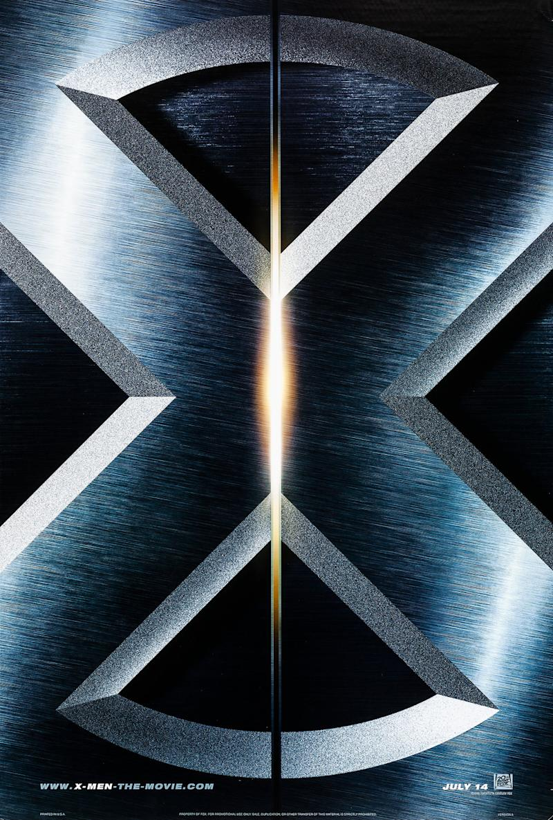 A poster for X-Men. (20th Century Fox)