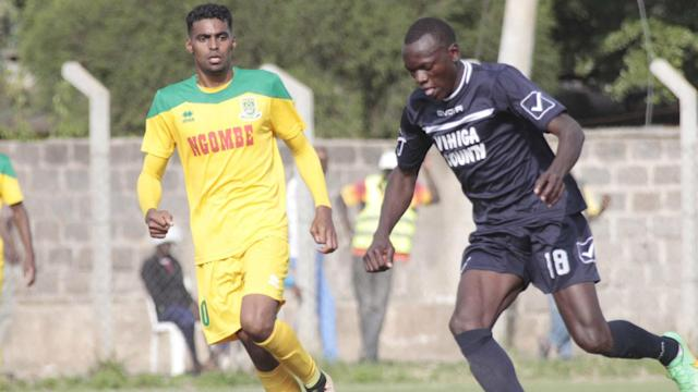 Ahmed finally opened his account for Mathare in the 1-1 draw against Vihiga United