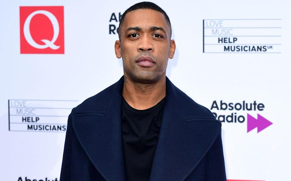 The grime artist Wiley has been accused of anti-Semitism on social media - PA/Ian West