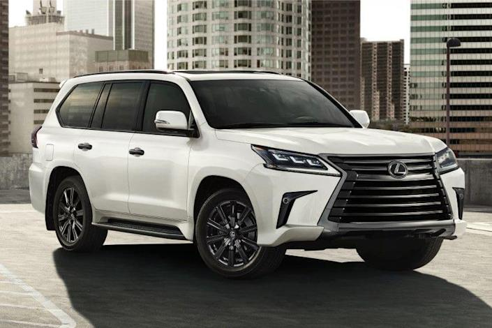 2021 lexus lx 570 arrives with more standard features and