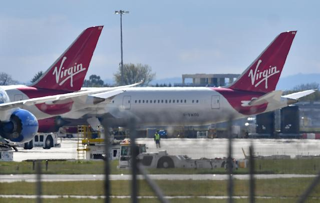 Virgin Atlantic is being circled by private equity (Getty)