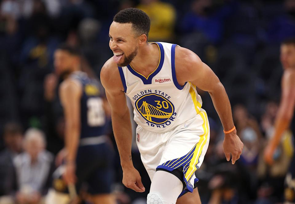 Stephen Curry。(Photo by Ezra Shaw/Getty Images)