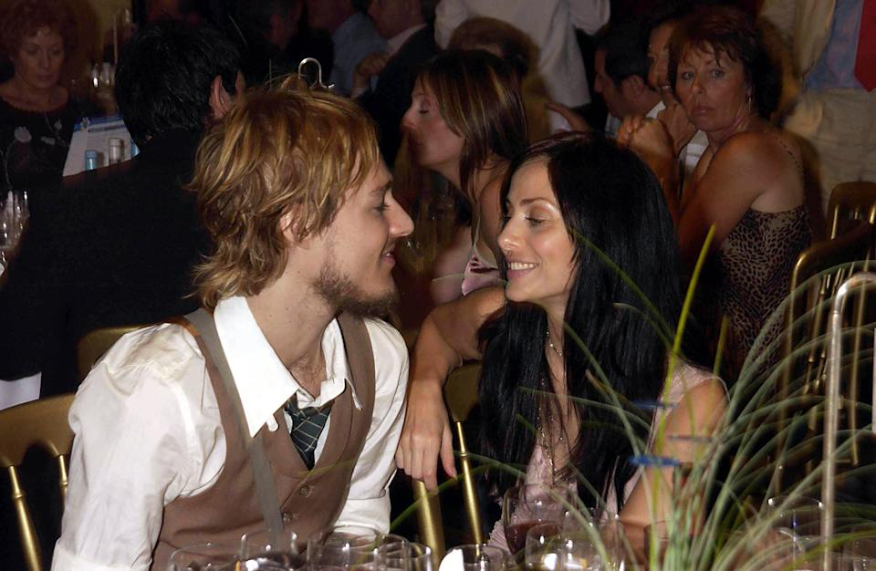 UNITED KINGDOM - JUNE 27:  Natalia Imbruglia And Fiance Daniel Johns, Silver Clef Lunch Of Behalf Of The Nordoff Robbins Music Theraphy Charity At The Hotel Intercontinental Hyde Park In London  (Photo by Dave Benett/Getty Images)