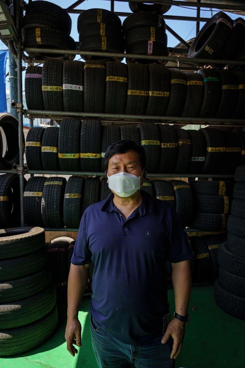 Jang Pil-uk, a mechanic in Chuncheon.