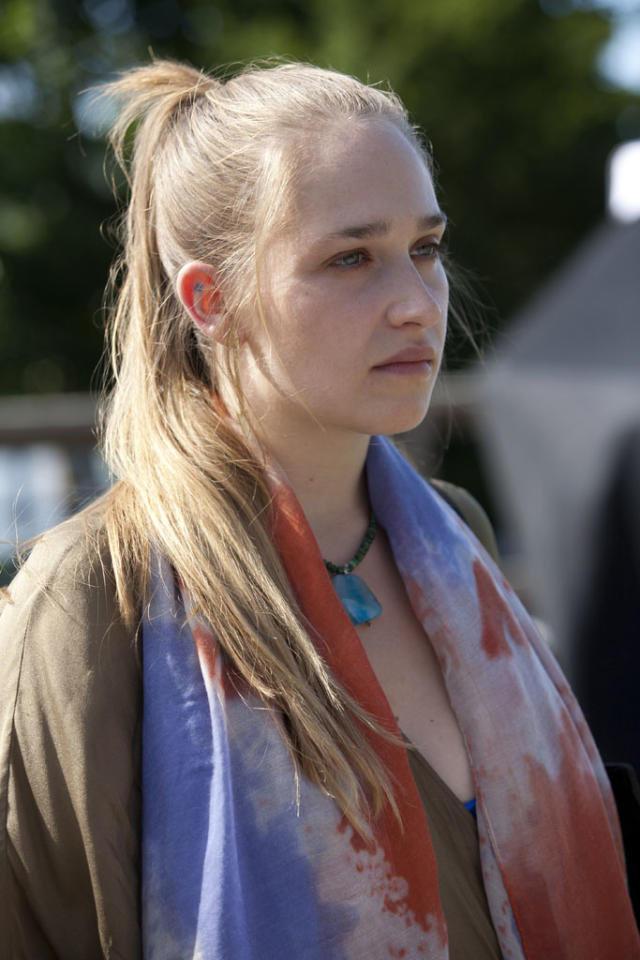 "Jemima Kirke in the ""Girls"" Season 2 episode, ""Video Games."""
