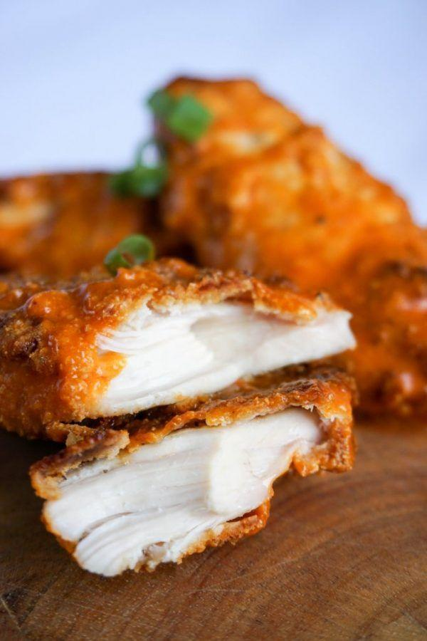 """<p>Love me tender.</p><p>Get the recipe from <a href=""""https://www.ketoconnect.net/recipe/keto-chicken-tenders/"""" rel=""""nofollow noopener"""" target=""""_blank"""" data-ylk=""""slk:KetoConnect"""" class=""""link rapid-noclick-resp"""">KetoConnect</a>.</p>"""