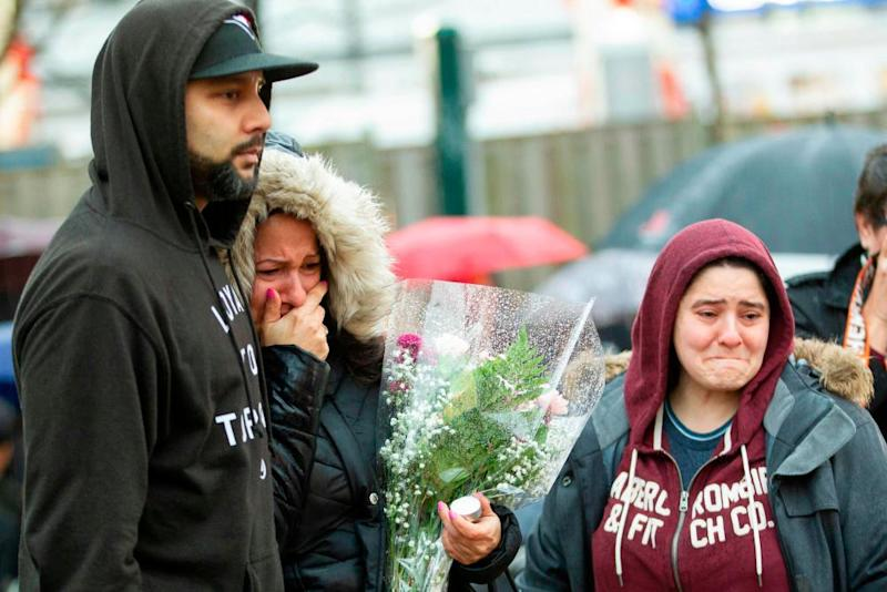 A vigil for victims in Toronto. The term 'incel' has burst into public view after the attack.