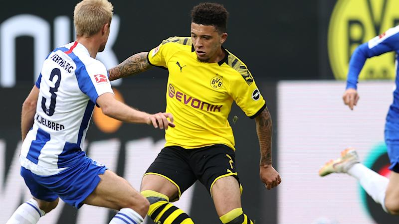 Sancho hailed by Favre as Dortmund move clear in Champions League race