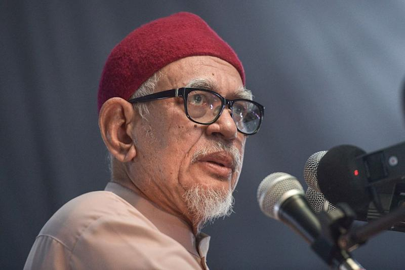 Hadi says PAS wants to raise awareness of the need for an Islamic leadership in the country because the GE14 outcome sees a federal government that does not represent the nation's demographics. — Picture by Mukhriz Hazim