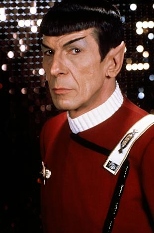Leonard Nimoy in 'Star Trek'