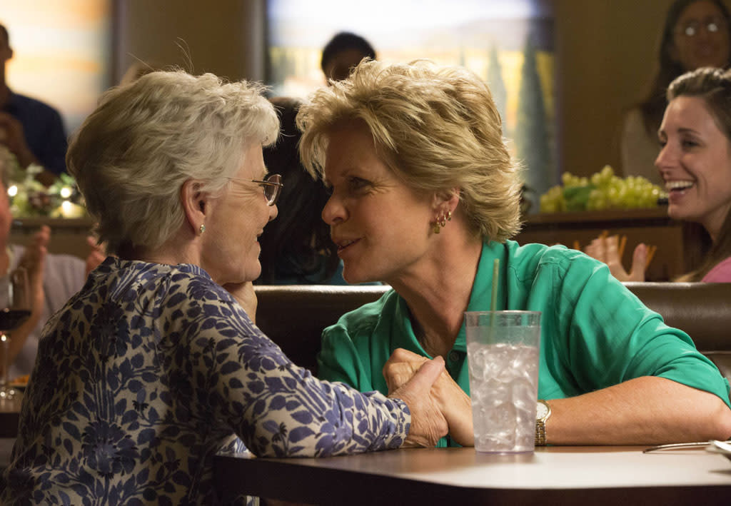 "Patty Duke and Meredith Baxter guest-star in the ""All Or Nothing"" season finale episode of ""Glee."""
