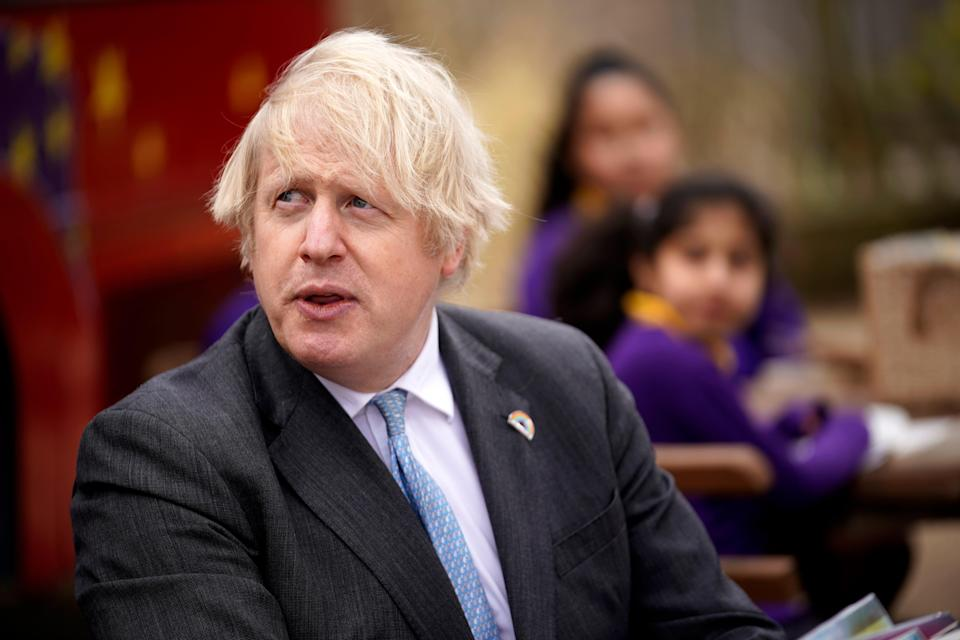 Boris Johnson was accused by Ireland on Thursday of leading a government that can't be trustedPOOL/AFP via Getty Images