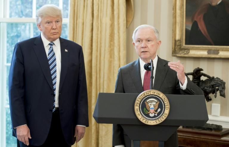 US Attorney General Jeff Sessions was one of Trump's earliest supporters, but their relationship quickly soured when Trump took office