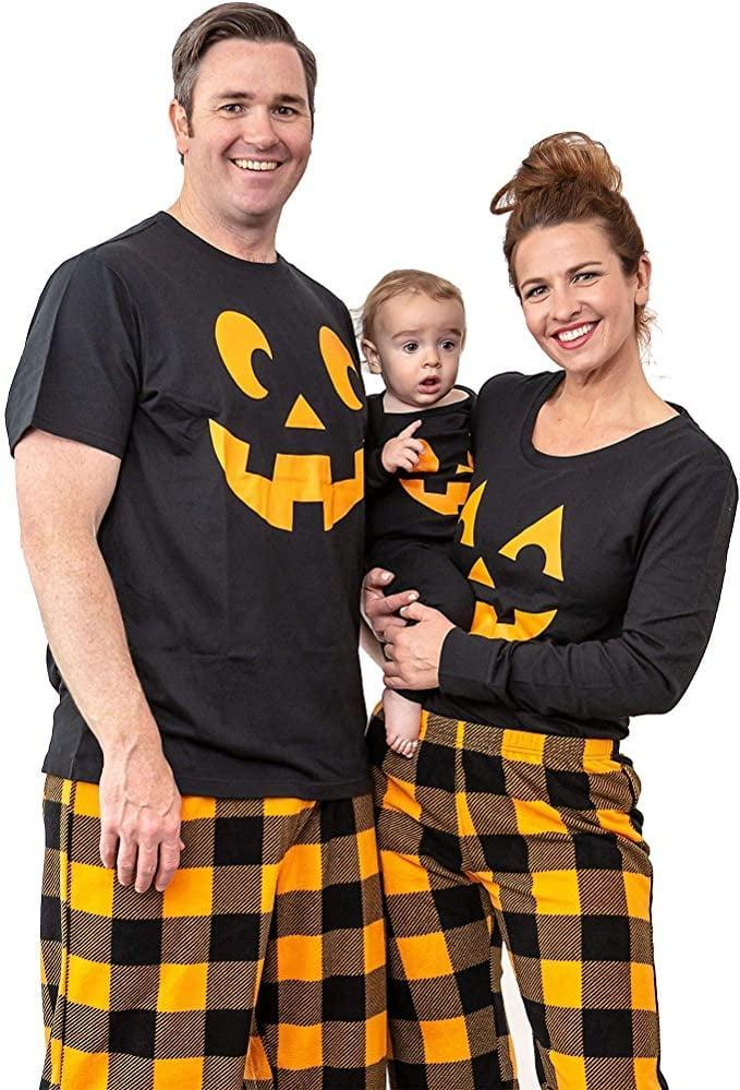 <p>These <span>Under Disguise Family Matching Halloween Pajama Sets</span> ($33) feel like fall.</p>
